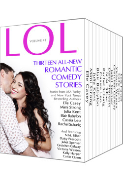 LOL Anthology 3D Cover - Victoria Wessex Julia Kent Mimi Strong